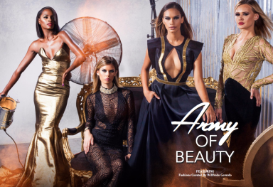 Army Of Beauty: Shoot