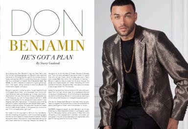 Model: Don Benjamin