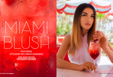 MIAMI BLUSH: Betania Goncalves